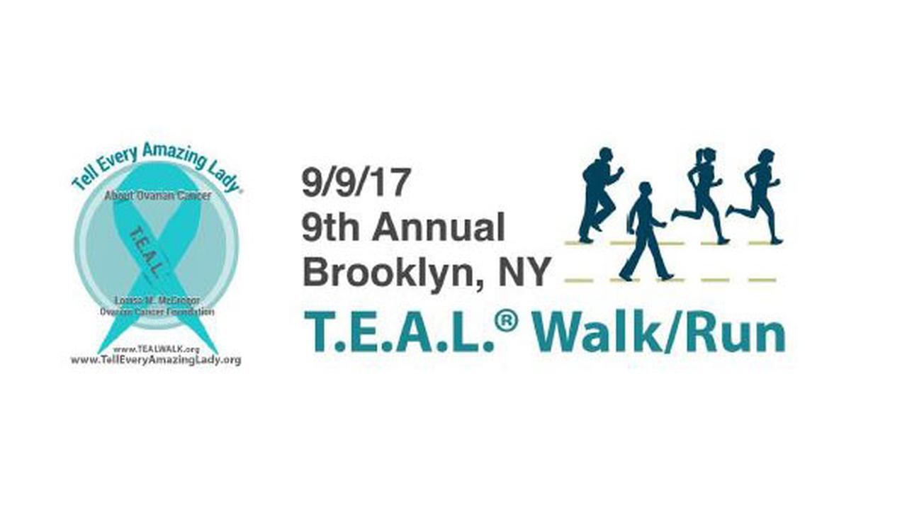 9th Annual Brooklyn T.E.A.L. Walk/5K Run for Ovarian Cancer in Prospect Park, Brooklyn!