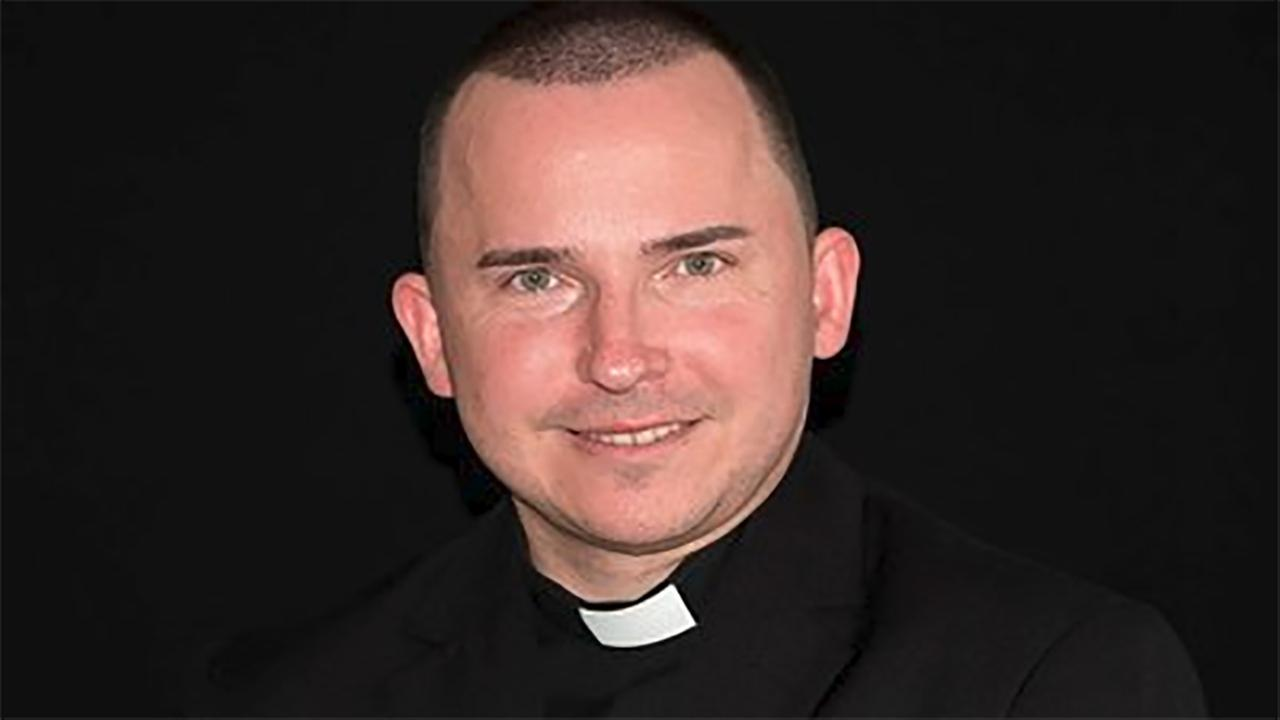 Photo of Rev. Marcin Nurek from Diocese of Paterson web site.