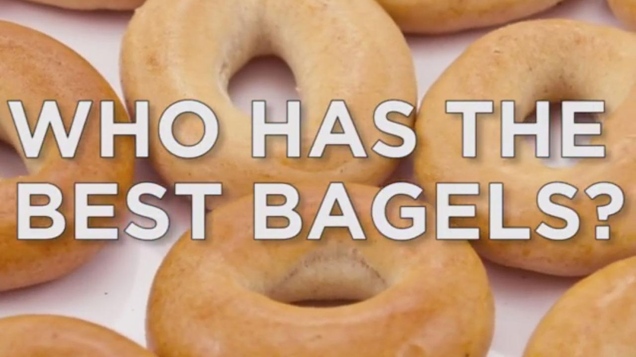 Who has the best bagels in our area? You tell us!