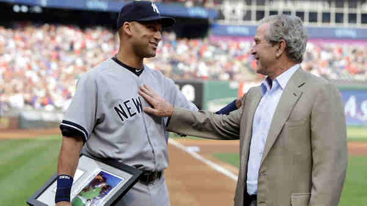 derek jeter george bush