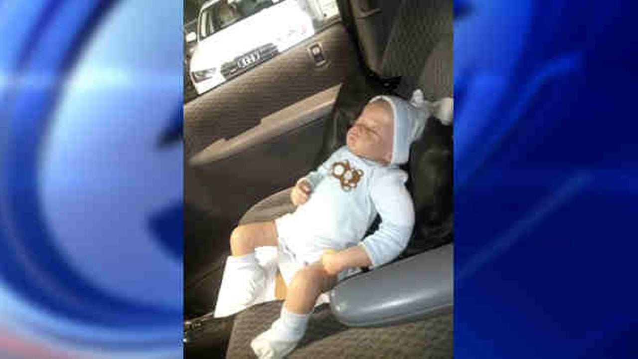 hoboken cops break windows for baby doll