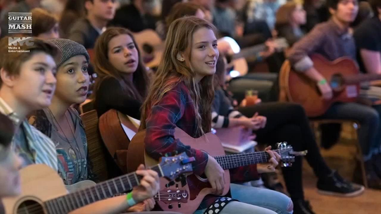 guitar mash nyc teen songwriting contest