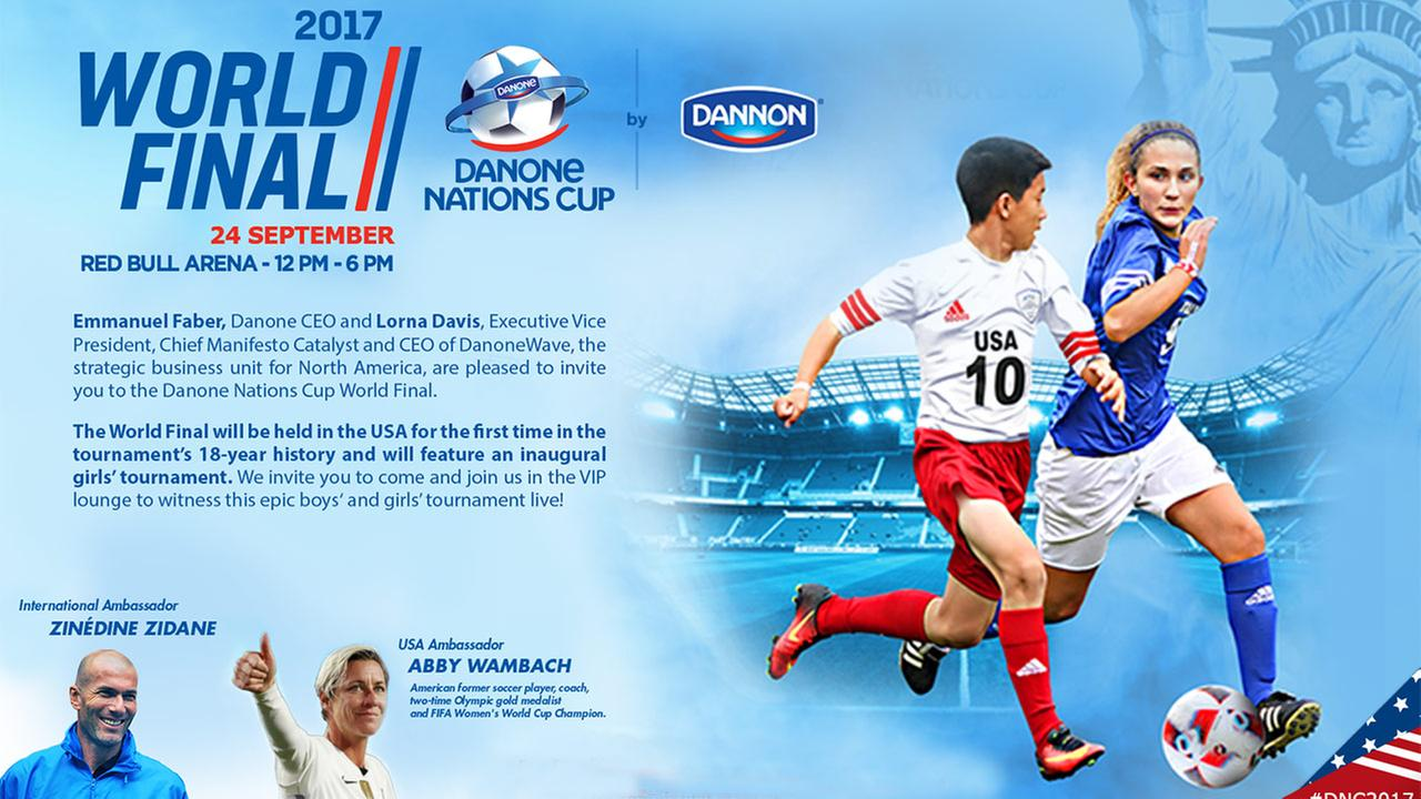 Danone Nations Cup Event Information