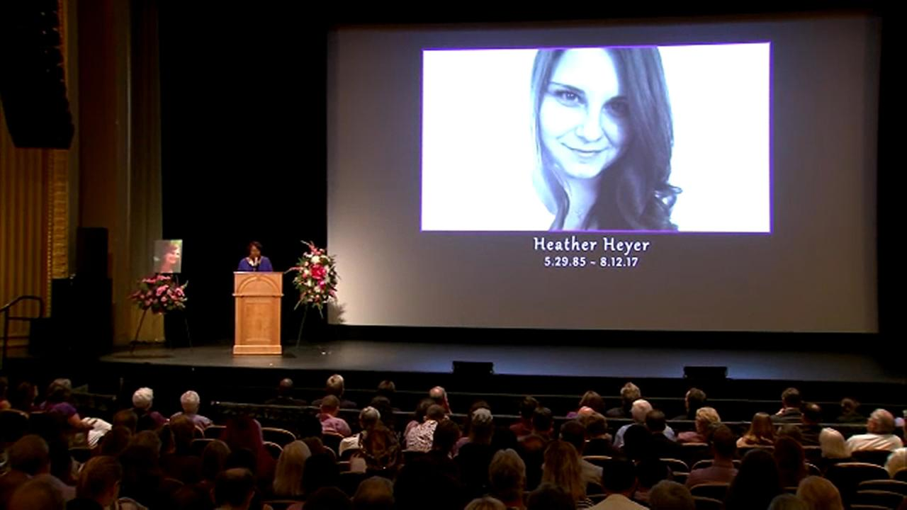 Mother of Charlottesville victim Heather Heyer urges 'righteous action'