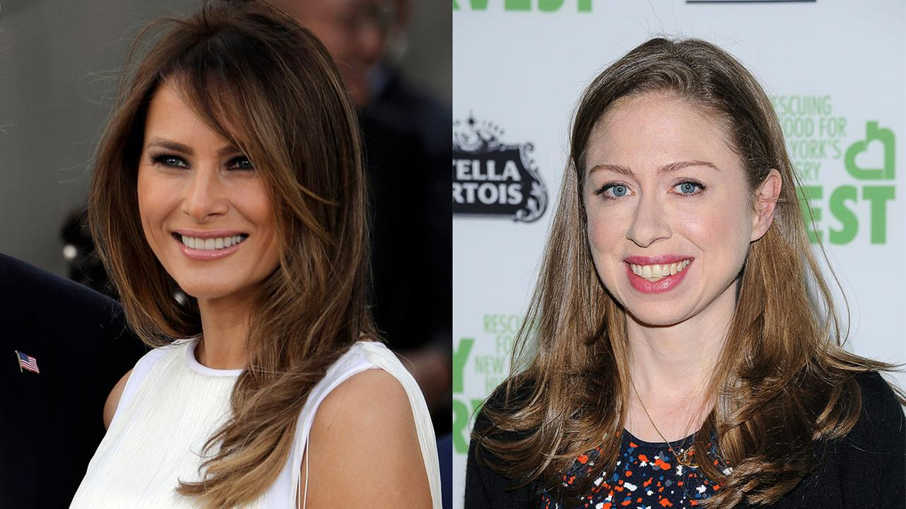 Melania Trump thanks Chelsea Clinton for defending Barron