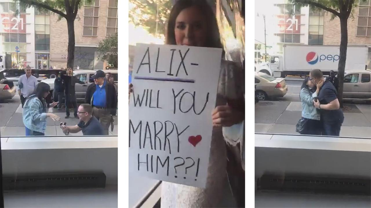 amy freeze wedding marriage proposal