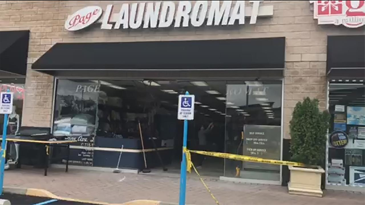 6 hurt when car accidentally crashes into Staten Island laundromat