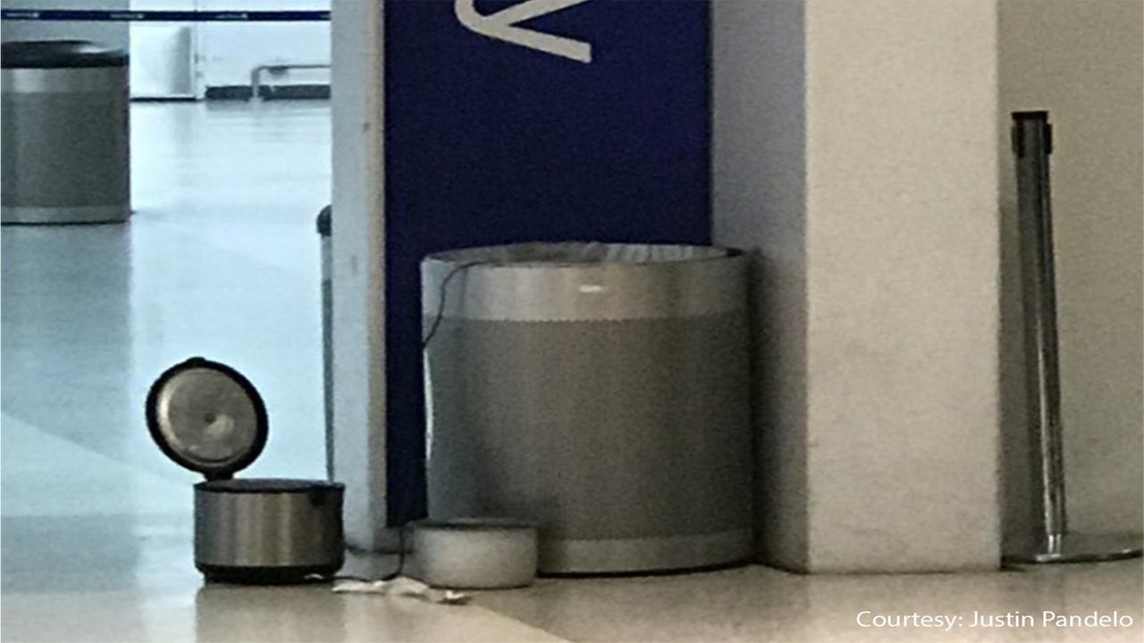 Suspicious package forces evacuation of Newark Liberty International Airport terminal