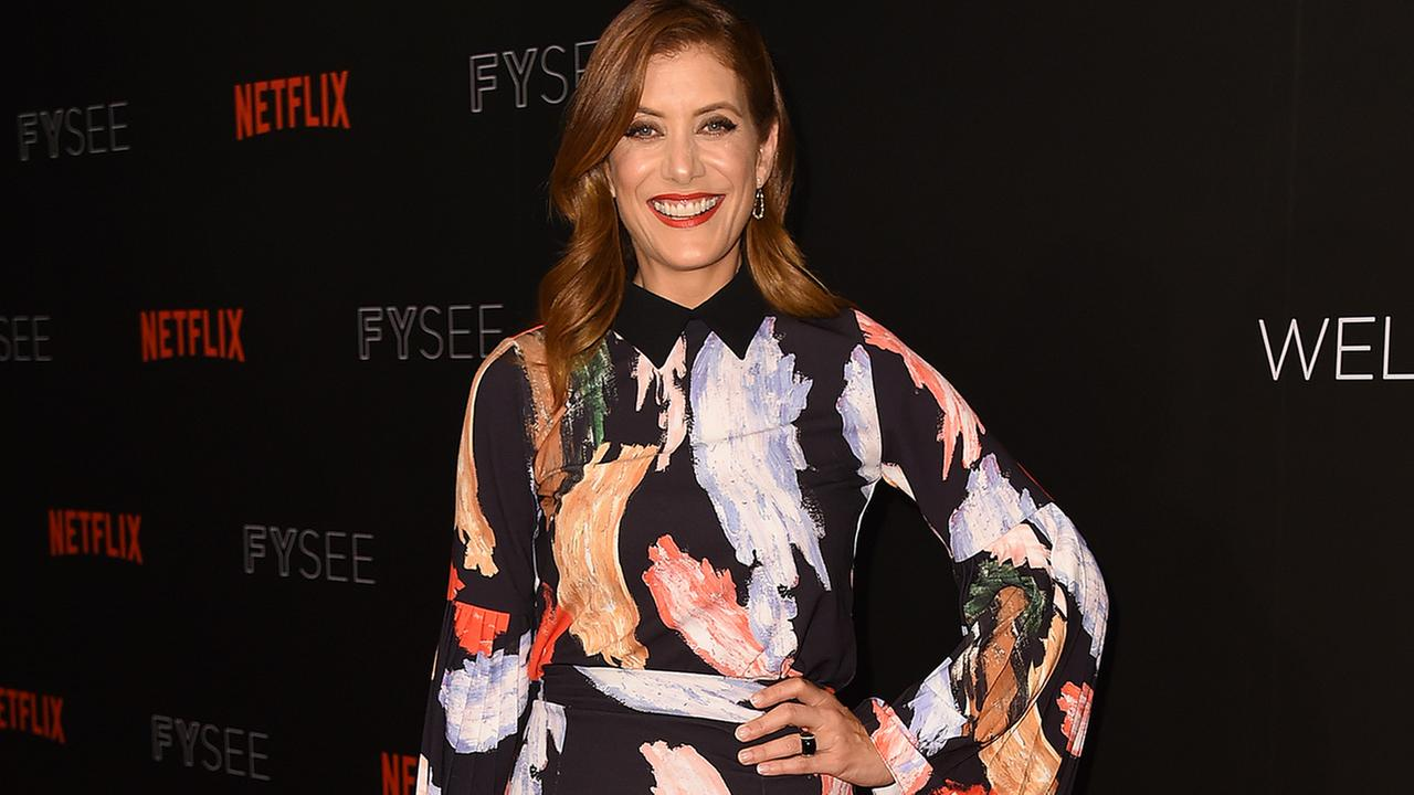 Kate Walsh arrive at the 13 Reasons Why FYC Event on Friday, June 2, 2017 in Beverly Hills, California