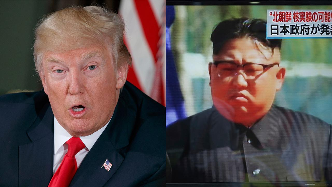 president trump north korea kim jong un