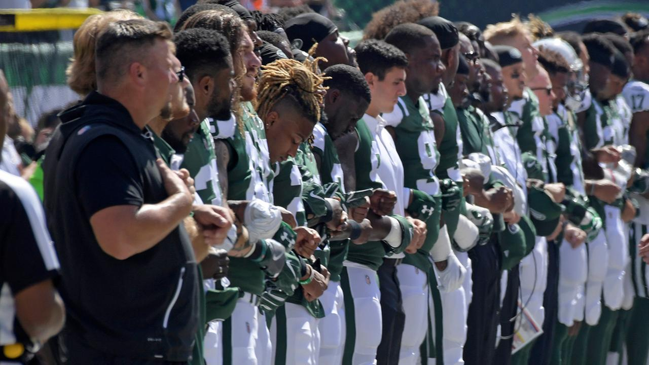 new york jets nfl protest