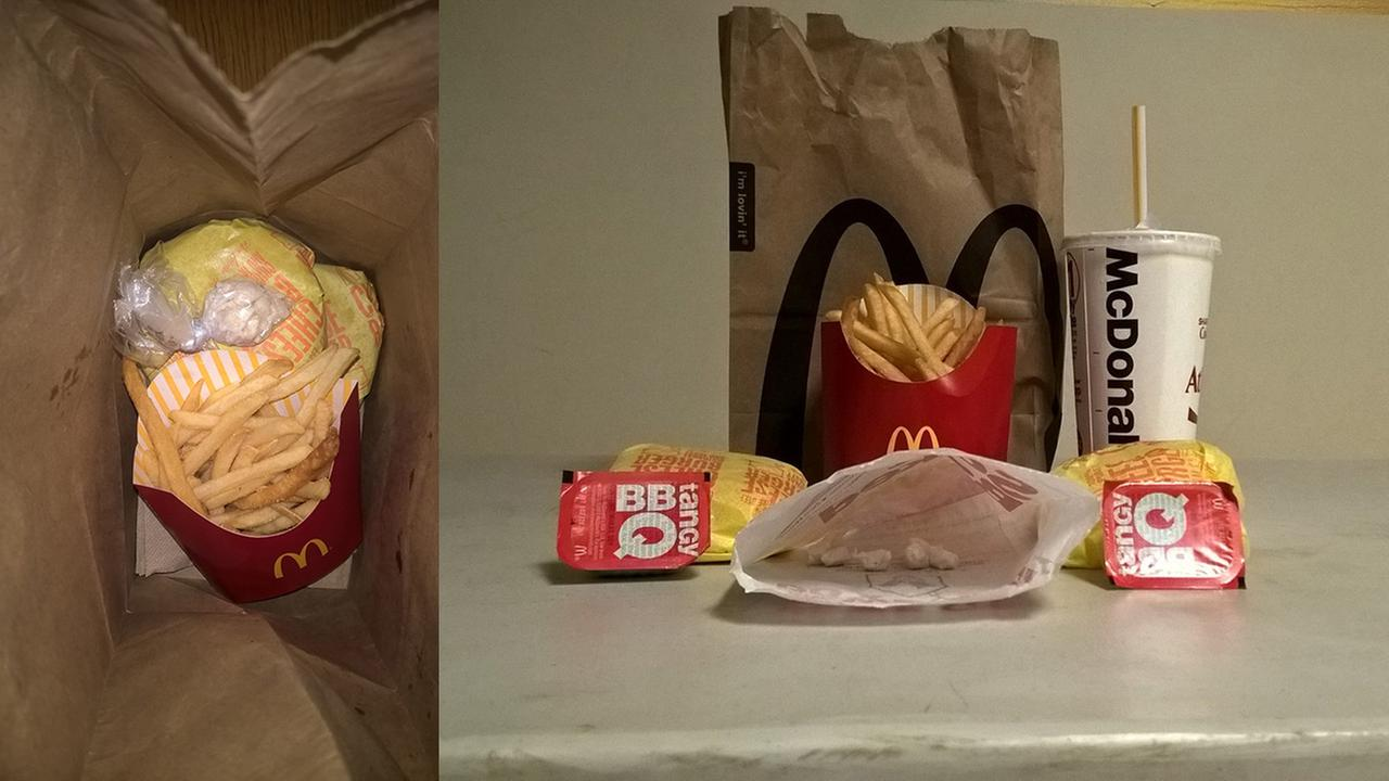 McDonald's employee caught serving Happy Meals with side of cocaine