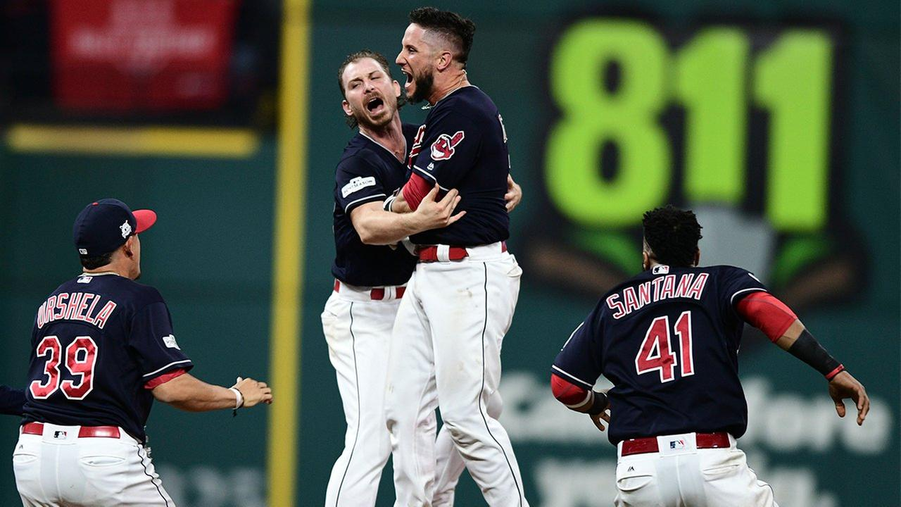 Indians dominate Yankees in ALDS Game 1