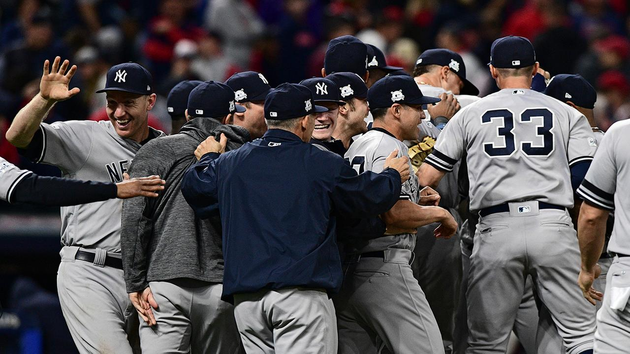 Yankees complete comeback, beat Indians 5-2 in Game 5 of ALDS