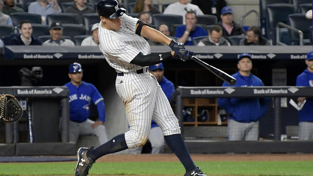 aaron judge hr ny yankees