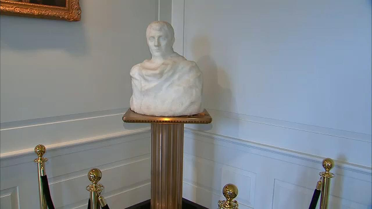 Missing Rodin sculpture located in New Jersey borough hall
