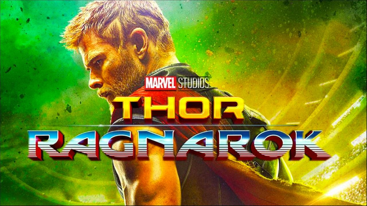 Image of a still from the Marvel Studios movie Thor Ragnarok