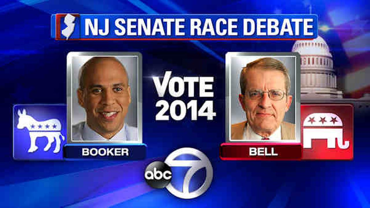 First New Jersey Senate debate between Booker and Bell to air on Channel 7
