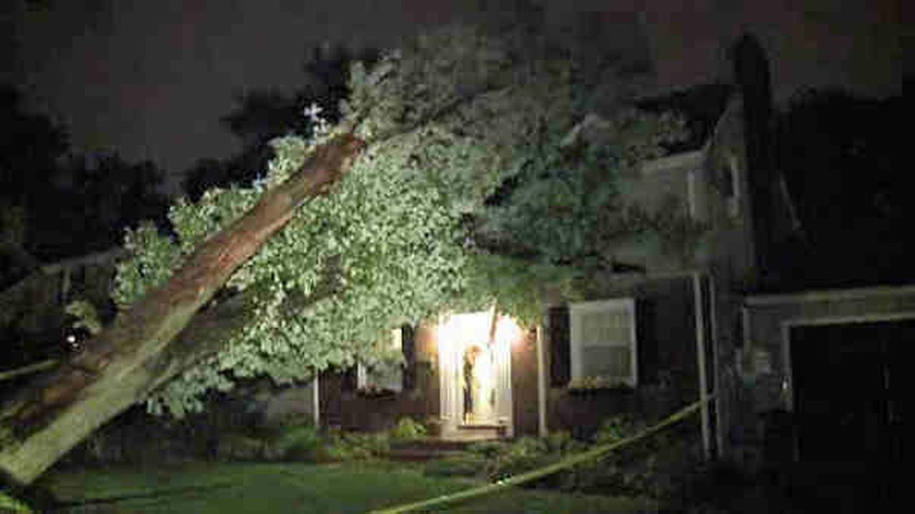 August 13 storm damage across the Tri-State Area