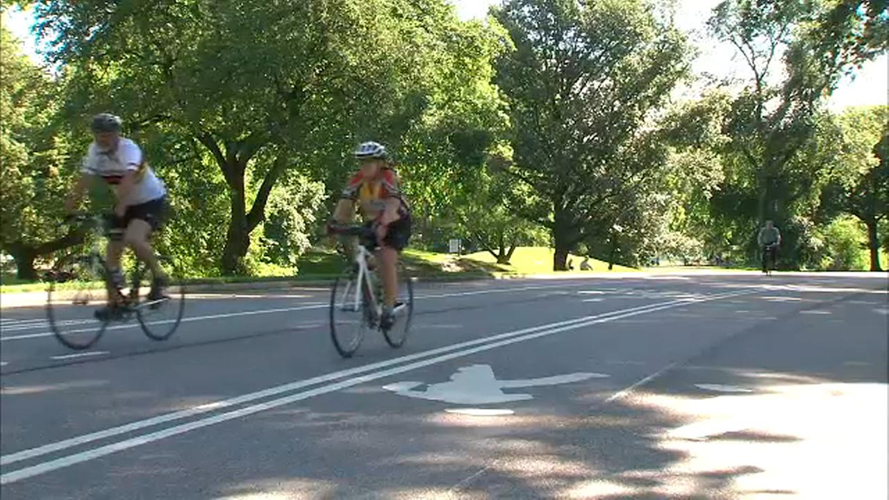 Prospect Park will go permanently car-free next year