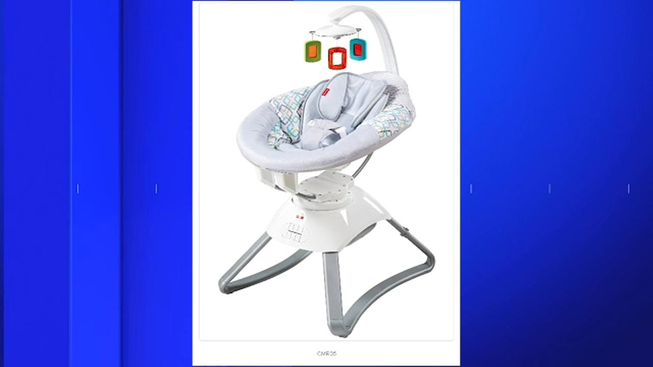 Fisher-Price is recalling 6,500 baby bouncing seats because of reports of overheating.