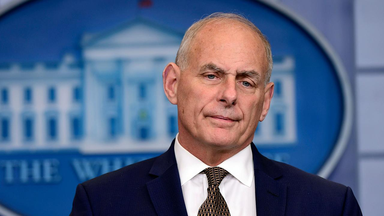 john kelly white house chief of staff