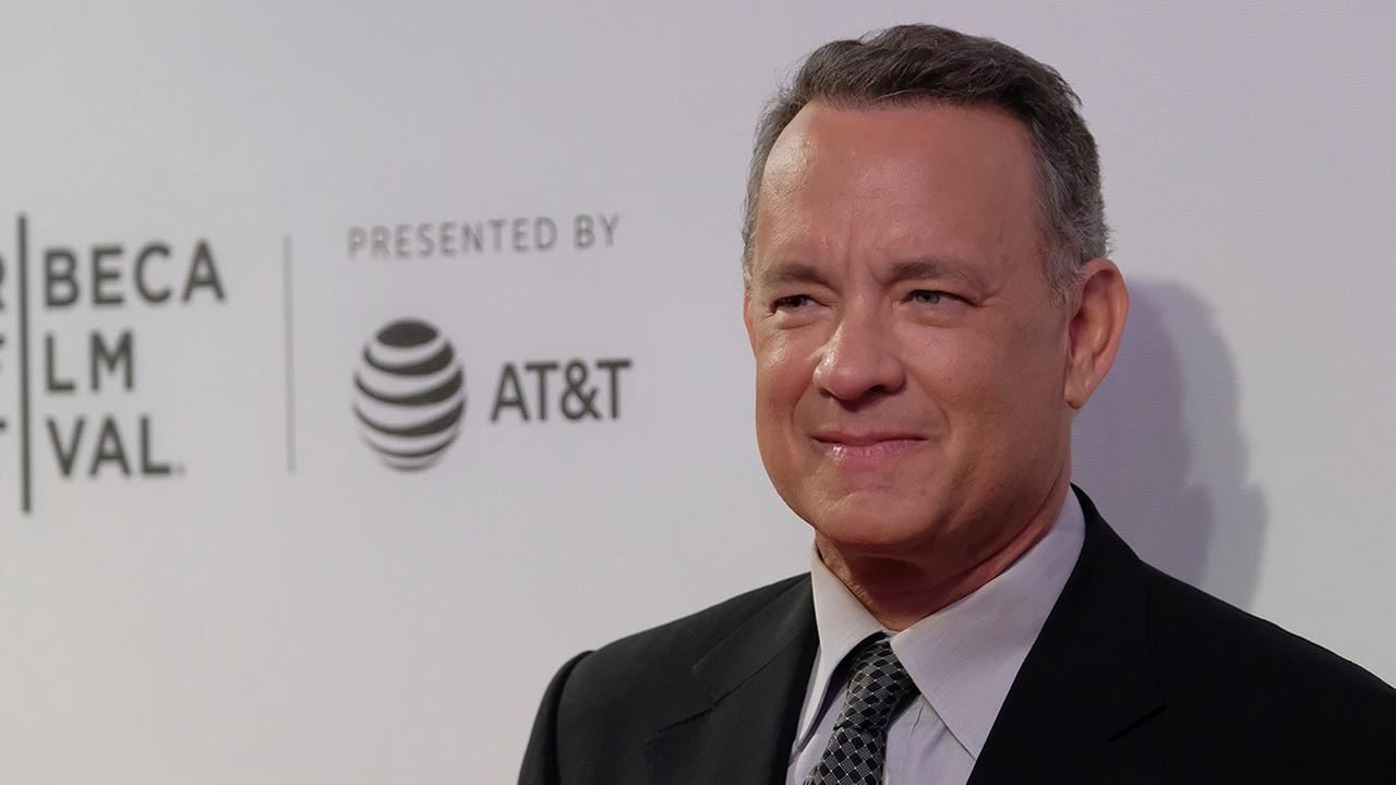 Tom Hanks attends The Circle premiere during the 2017 Tribeca Film Festival on Wednesday, April 26, 2017, in New York. (Photo by Charles Sykes/Invision/AP)