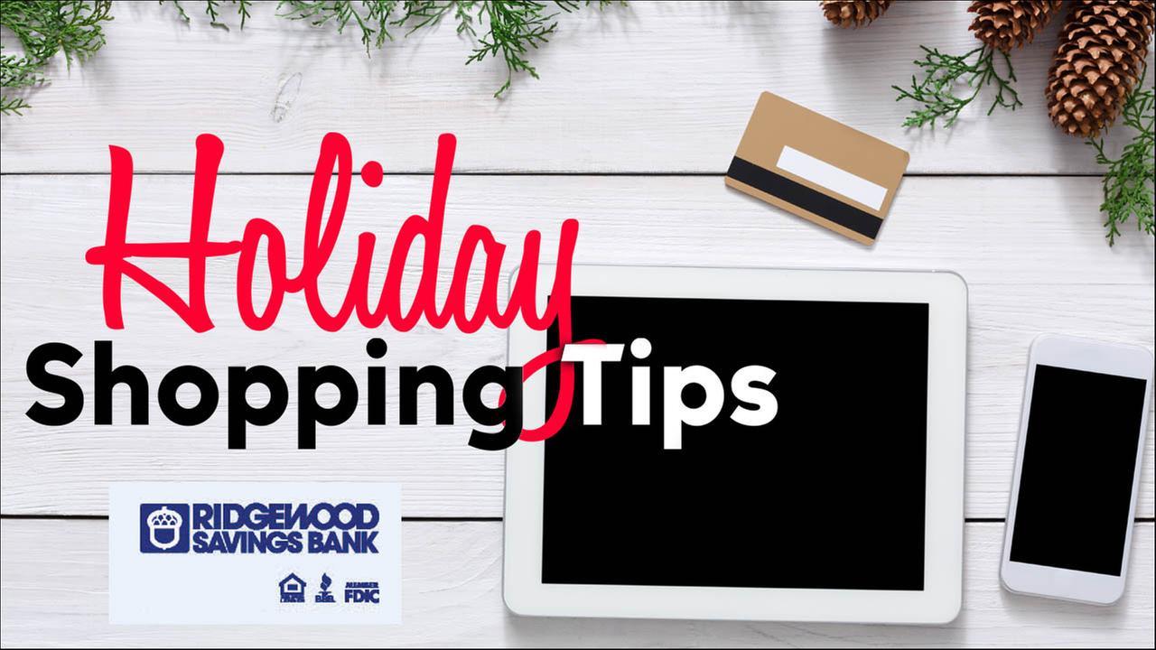 Ridgewood Savings Bank: Holiday Shopping Tips