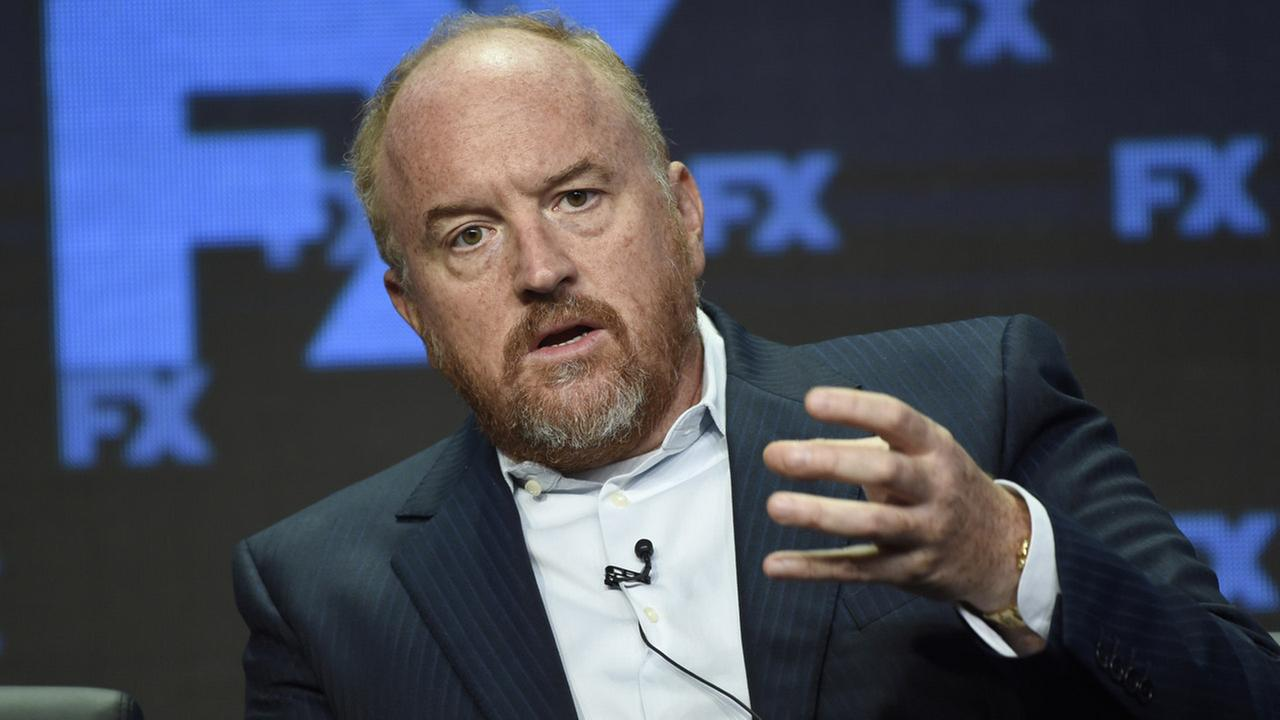 Louis C.K., co-creator/writer/executive producer, participates in the Better Things panel during the FX Television Critics Association Summer Press Tour at the Beverly Hilton.