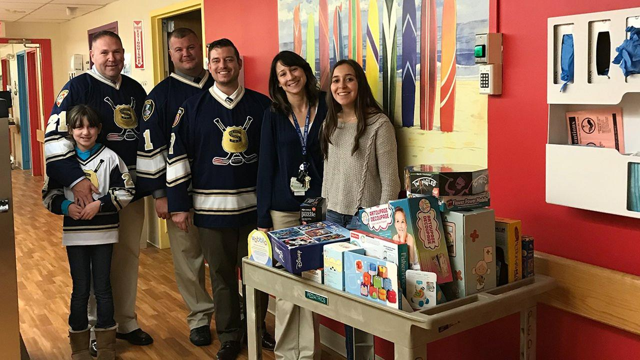 New Jersey teen's charity goes a long way for children in need