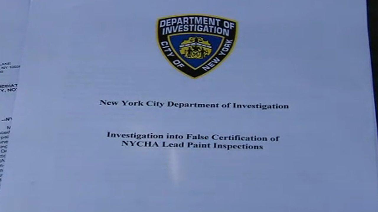 Lead paint investigation leads to NYCHA shakeup