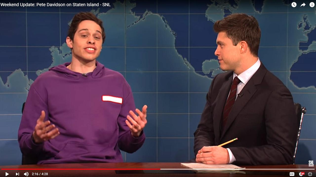 SNL cast member Pete Davidson goes on rant, bashes hometown of Staten Island
