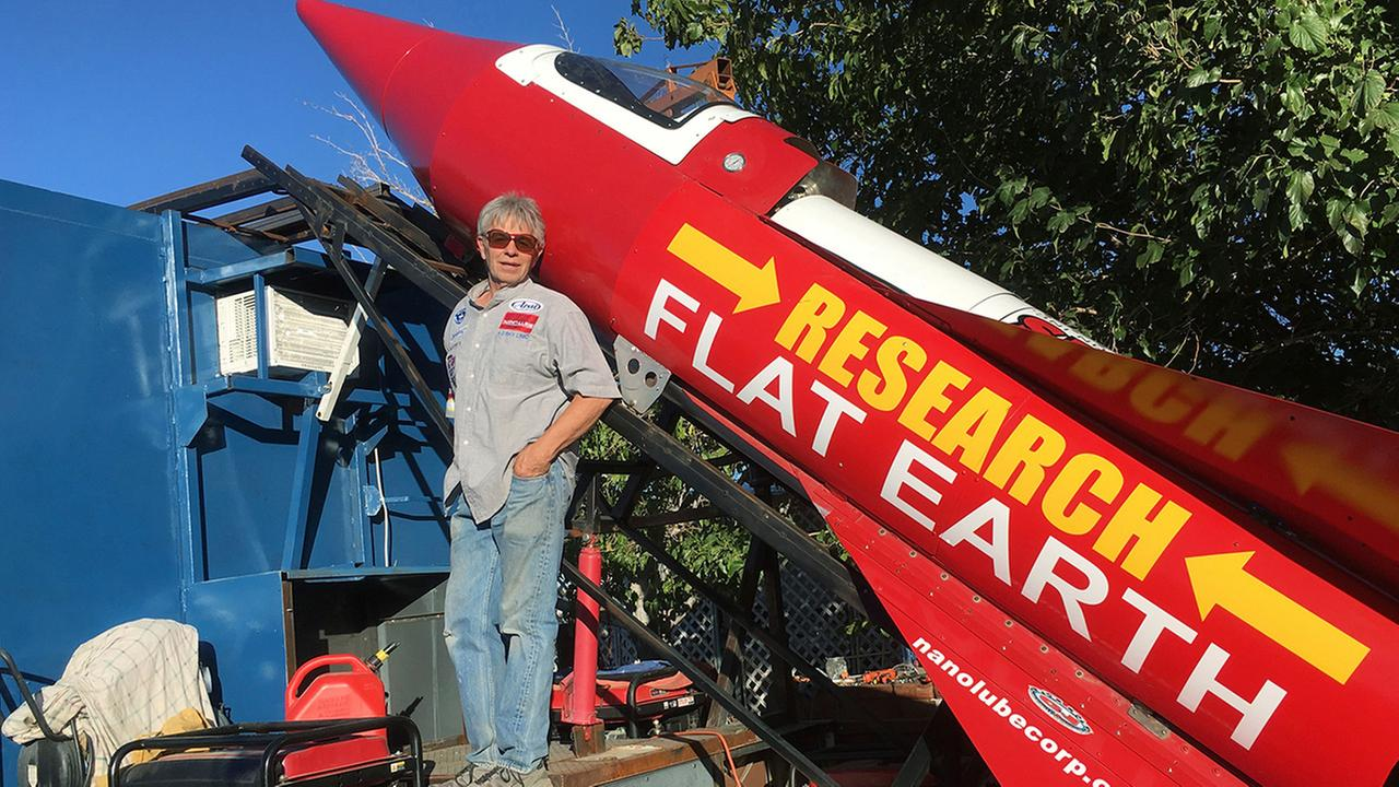 Flat-Earther to Launch Himself in Homemade Steam Rocket Saturday