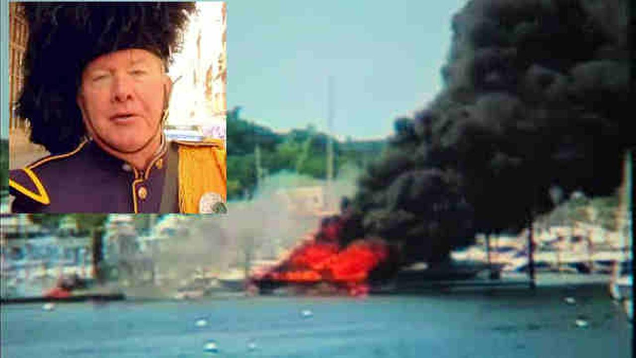 port washington boat fire bob hogan
