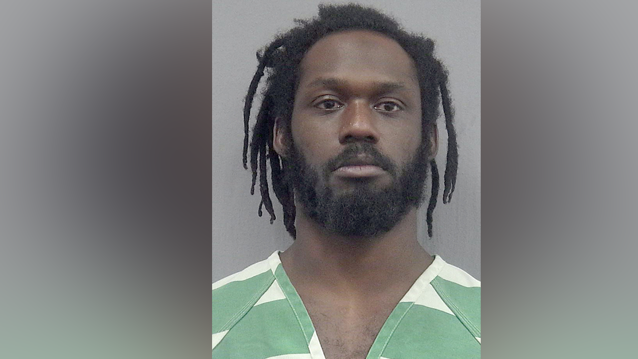 This undated photo provided by the Gainsville Police Department shows WWE wrestler Rich Swann who is being held without bail after his arrest (Gainesville Police Department via AP)
