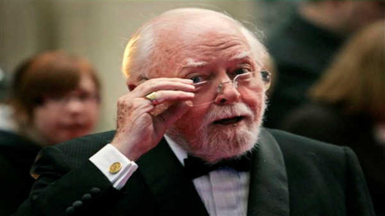 Son tells BBC that actor-director Richard Attenborough died at 90