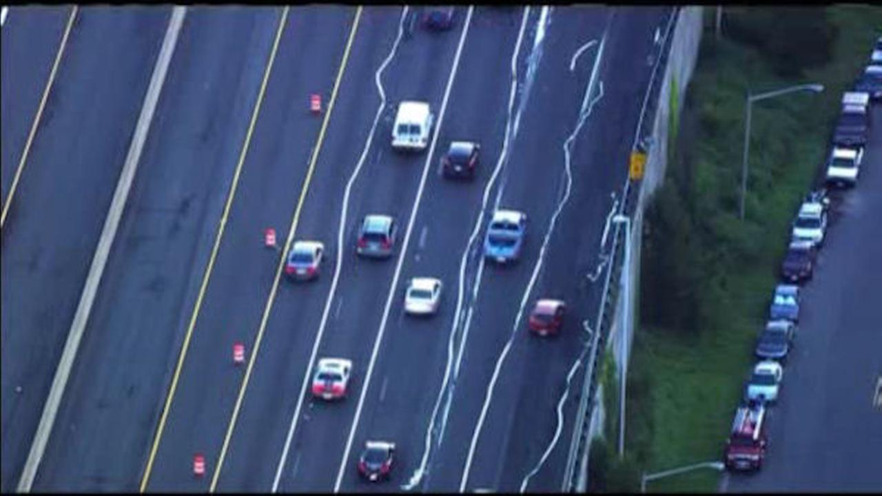 Crazy crooked lines on highway confuse motorists