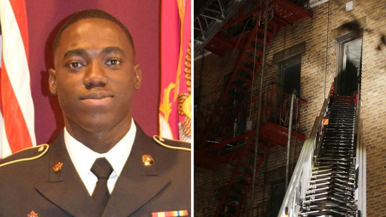 Hero soldier dies saving four lives in Bronx fire