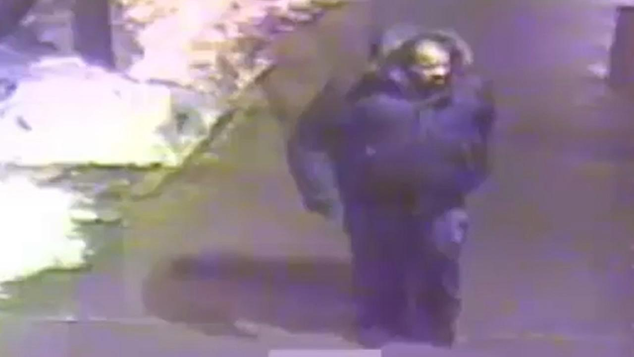 NYPD surveillance image of a person of interest in the Bronx rape.