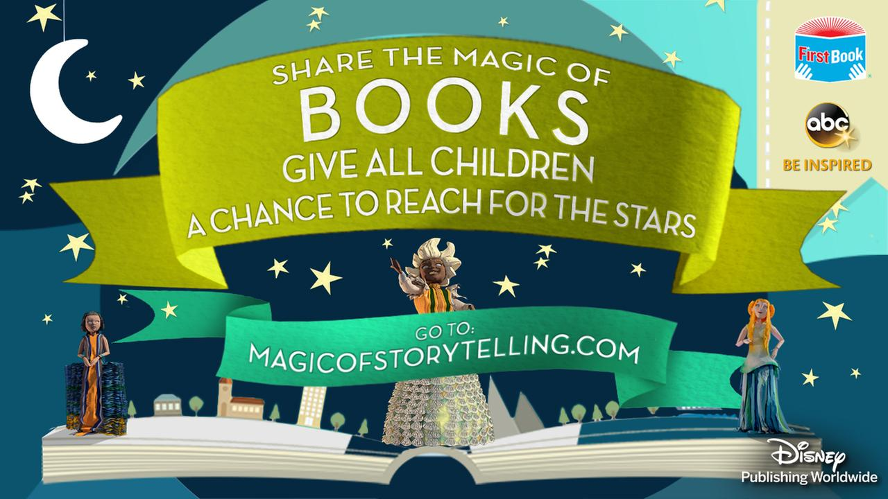Disney to donate up to one million books to First Book during 'Magic of Storytelling' campaign