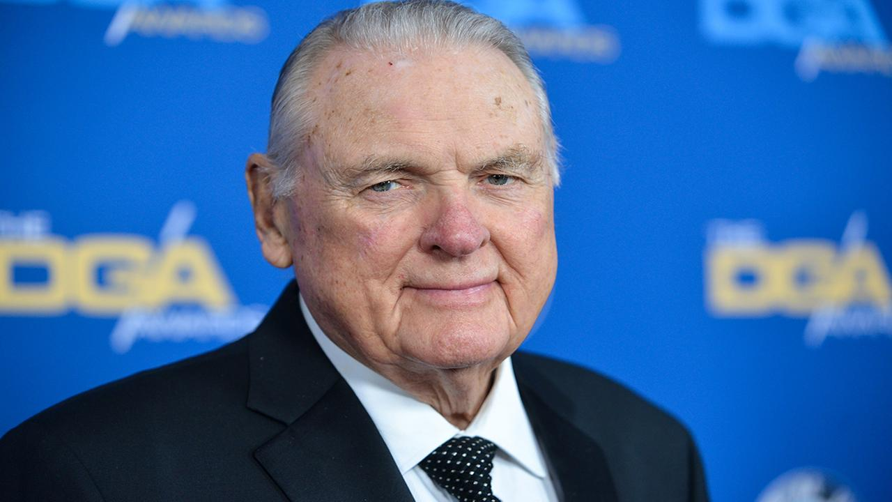 Keith Jackson arrives at 66th Annual DGA Awards Dinner at the Hyatt Regency Century Plaza Hotel on Jan. 25, 2014, in Los Angeles, Calif. (Photo by Richard Shotwell Invision/AP)