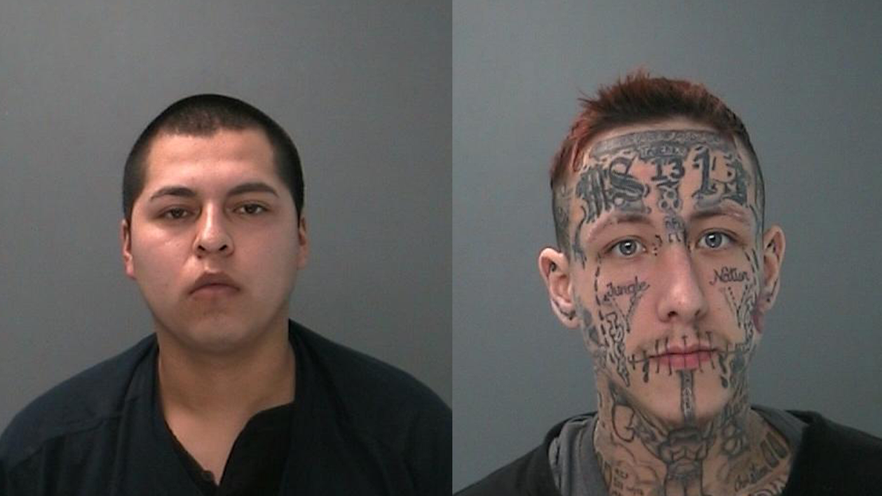 Suffolk County Police photos of Jose Molina, (l), and Jeremy Jones (r)