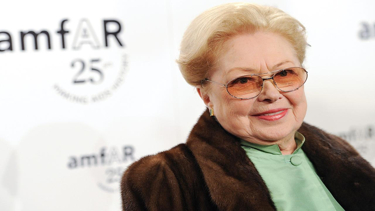 amfAR Founding Chairman Dr. Mathilde Krim attends amfARs annual New York Gala at Cipriani Wall Street on Wednesday, Feb. 9, 2011 in New York. amfAR,  (AP Photo/Evan Agostini)