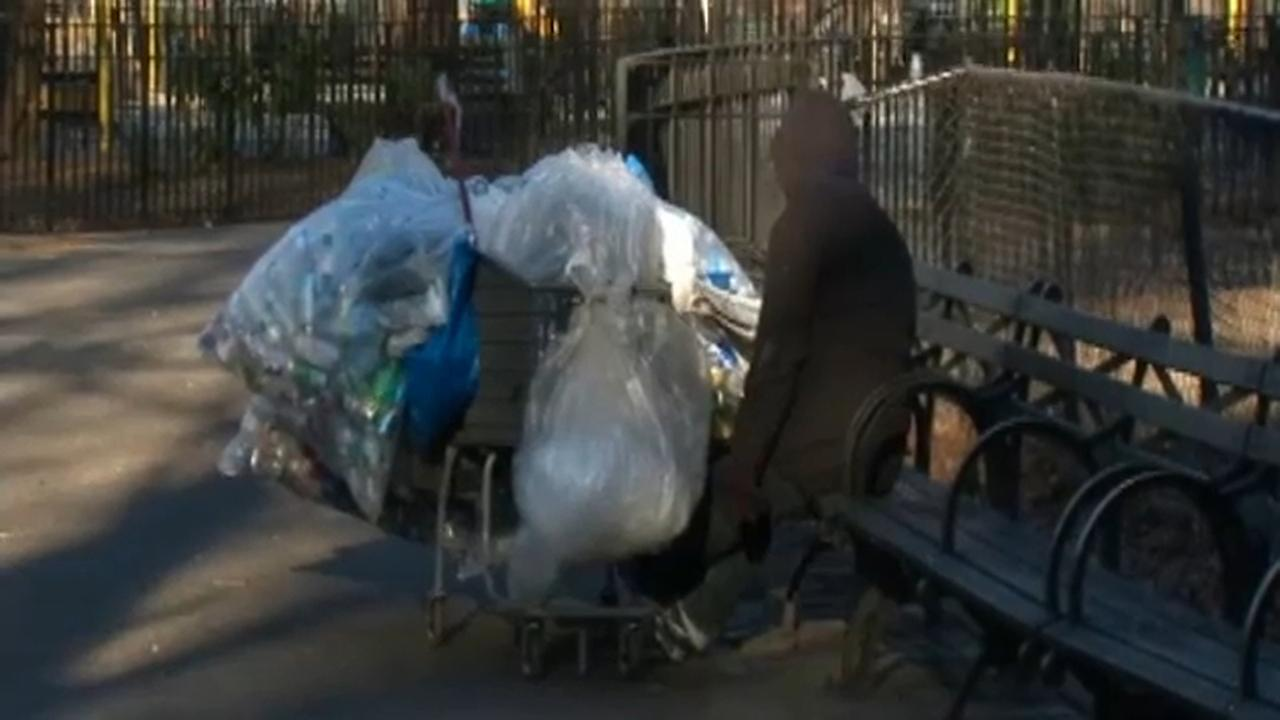 Volunteers conduct count of the number of homeless people in NYC