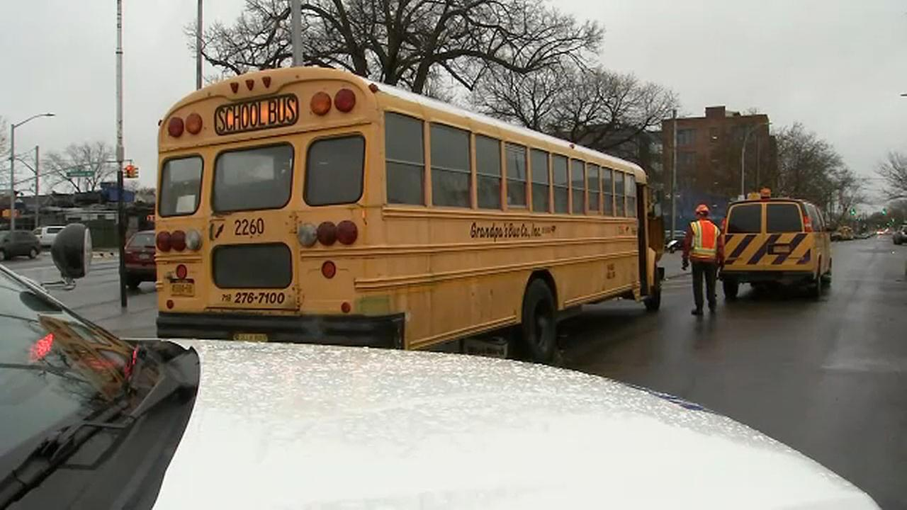 Driver charged after school bus hits 11-year-old boy crossing street in Jamaica