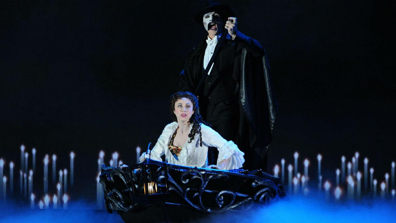 The cast of The Phantom Of The Opera performs at the 67th Annual Tony Awards, on Sunday, June 9, 2013 in New York.