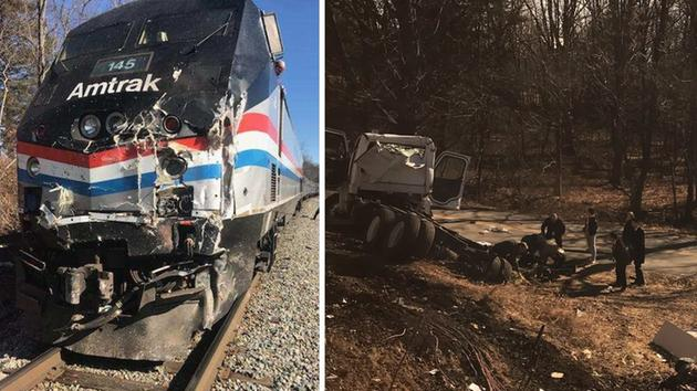 Train crashes while carrying GOP House members to retreat in WV