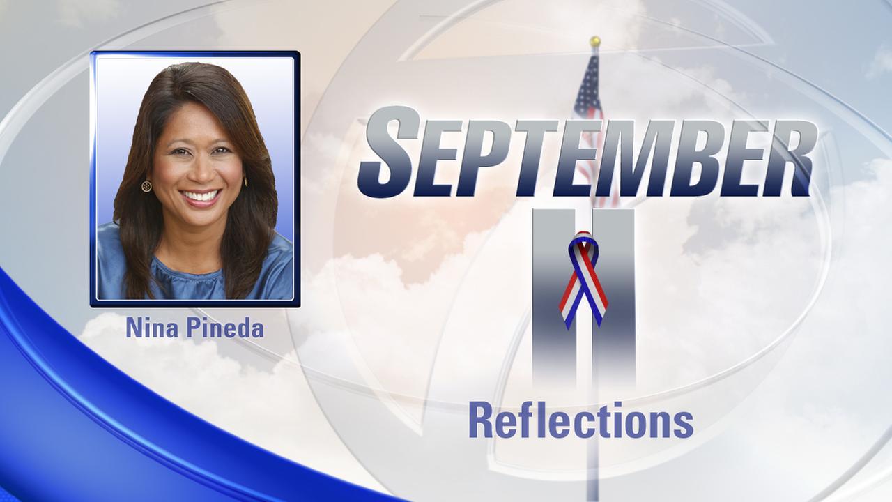 Nina Pineda reflects on the anniversary of 9/11