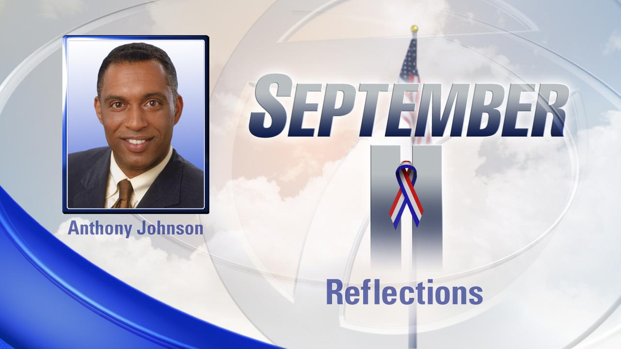 Anthony Johnson reflects on the anniversary of 9/11