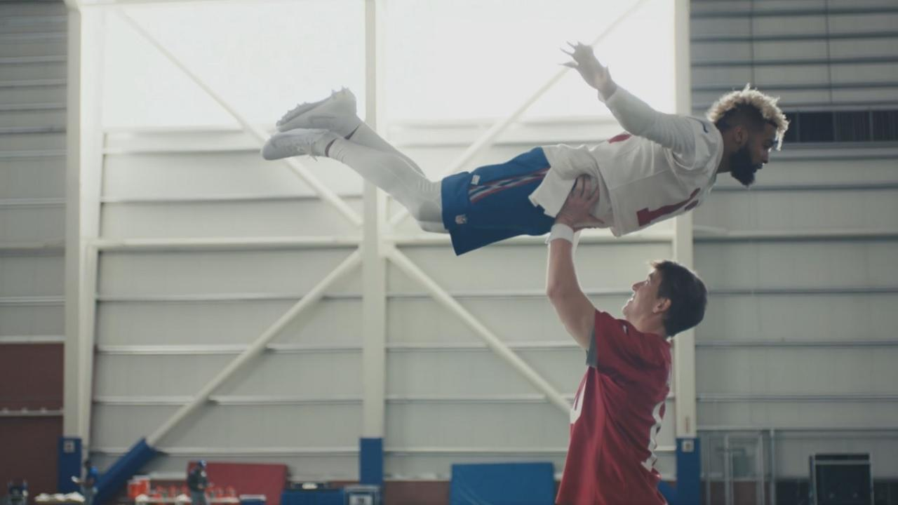 Eli Manning and Odell Beckham Jr combine for hilarious commercial